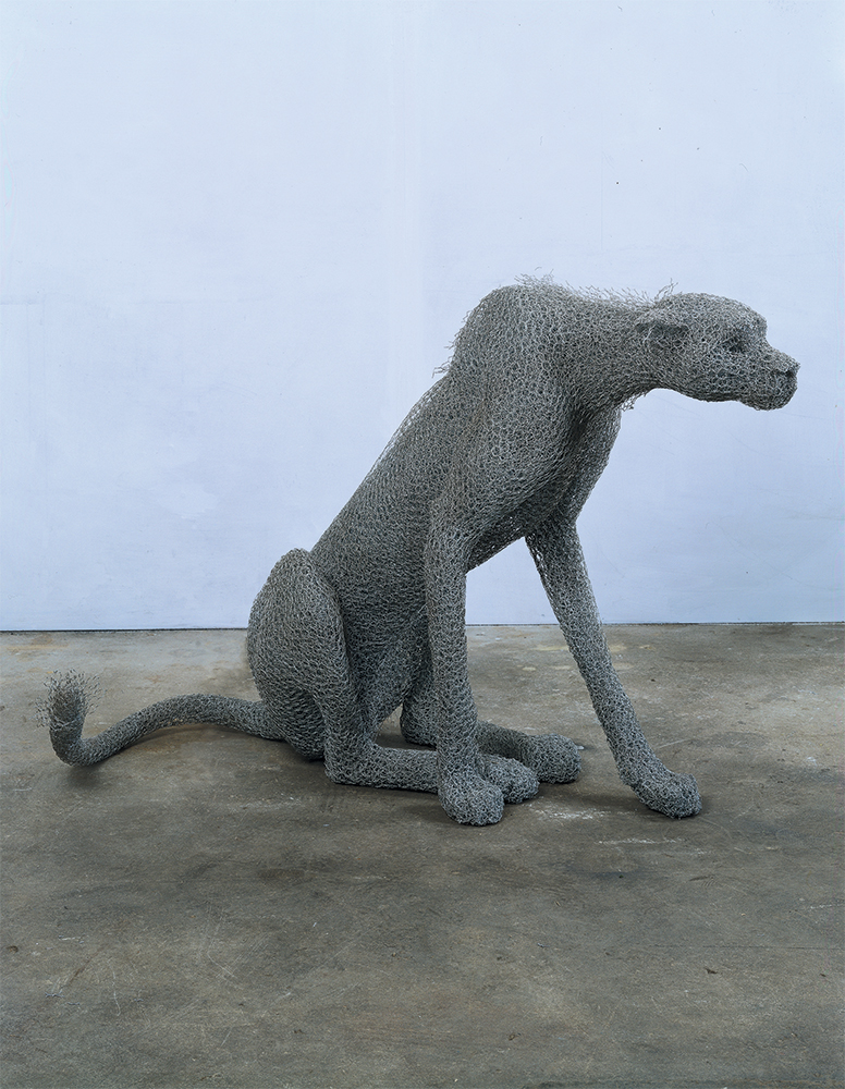 Seated Cheetah (2003)