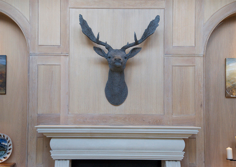 Fallow Stag Head (2011)