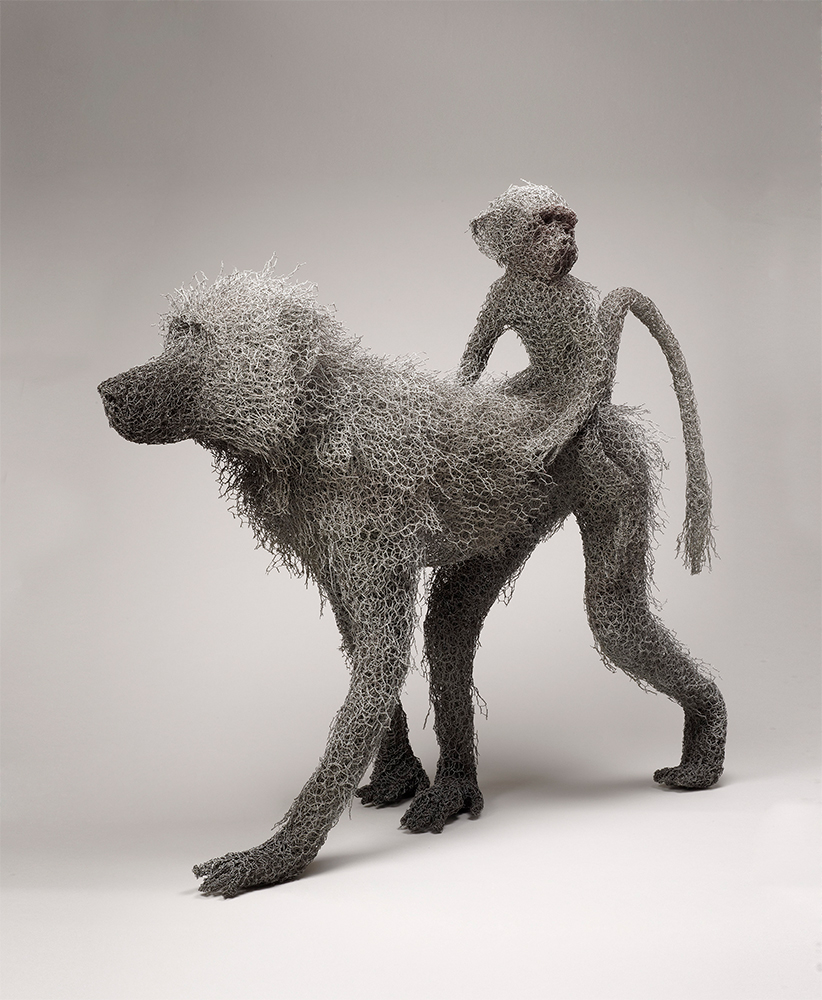 Baboon Mother <br>with Infant (2003)